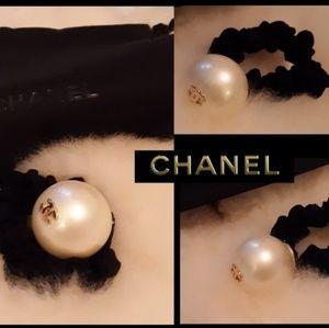 New! Chanel Runway Jump Hair Tie!